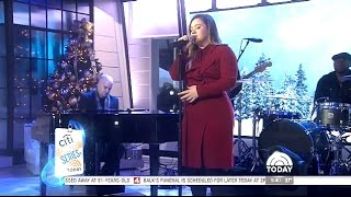 vuclip Kelly Clarson - Performs 'White Christmas' Today Show