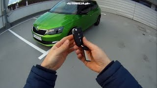 Skoda Fabia III 1.2 TSI TEST POV Drive & Walkaround English Subtitles