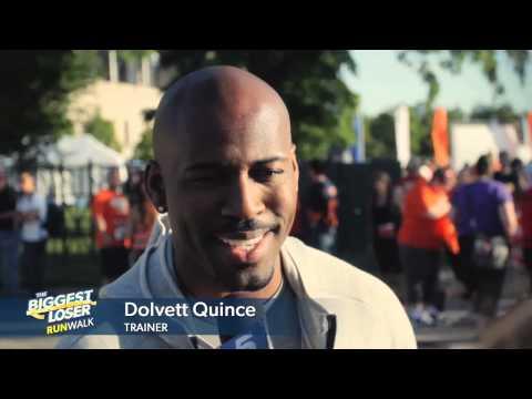 The Biggest Loser Trainer Dolvett Quince Motivates Chicago