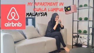 Gambar cover Airbnb Apartment in Malaysia| EST BANGSAR |جولة في شقتي 🎥#NindyaVlog