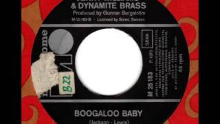 JERRY WILLIAMS & DYNAMITE BRASS  Boogaloo Baby