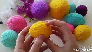 kendim tasarımım olan limon yumak sarma teknigi