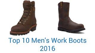 10 Best Men's Work Boots 2016