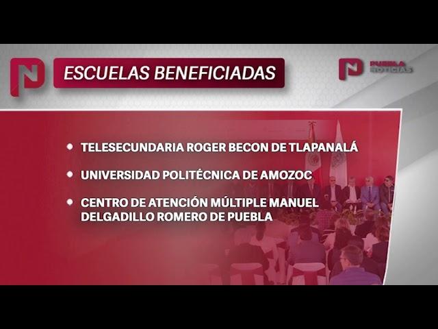 #SET #PueblaNoticias Programa de reconstrucción escuelas de Puebla