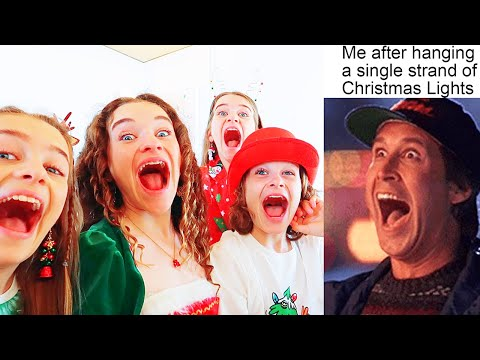 REACTING TO CHRISTMAS MEMES w/ The Norris Nuts