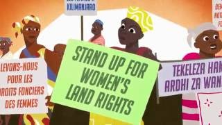 Stand Up for Women's Land Rights