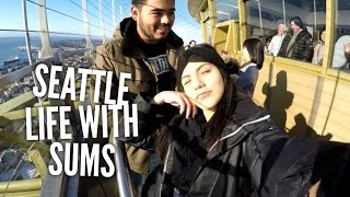 SEATTLE - Pike place, space needle, Saint Laurent, gum wall & more