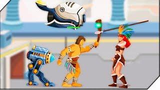 ЛОВУШКА ДЛЯ ГЕНЕРАЛА - Игра Knights Age Heroes of Wars Generals ( Conquered )  # 3 Андроид игры