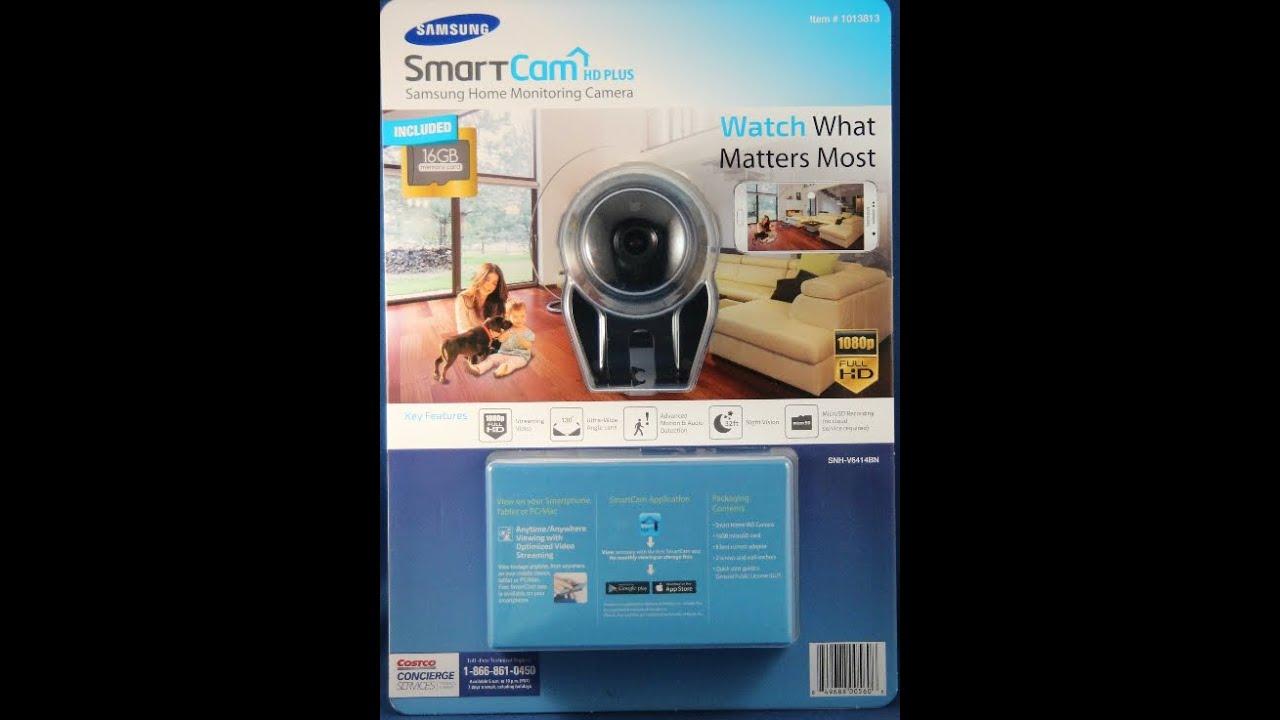 Samsung Smartcam Hd Plus Youtube