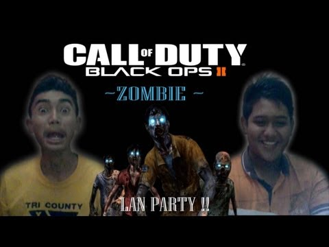 BLACK OPS II - Zombie LAN PARTY (MALAYSIA)