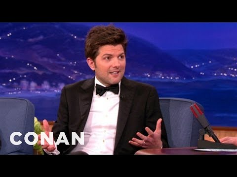 Adam Scott's Kids Are Really Into Describing Their Poop  CONAN on TBS
