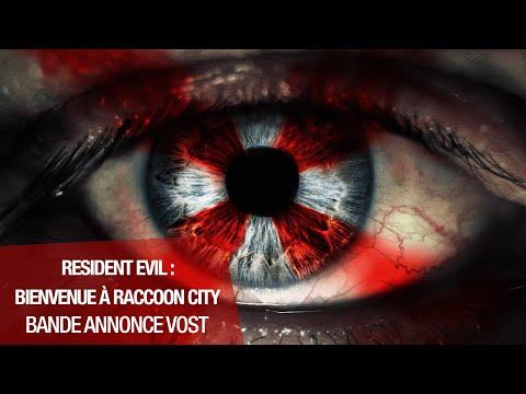 RESIDENT EVIL : BIENVENUE À RACCOON CITY - Bande-annonce VOST