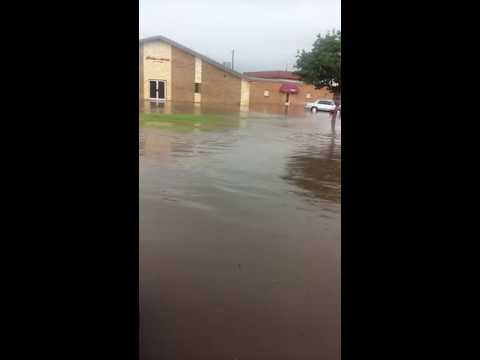 Flooding in Lubbock , Texas
