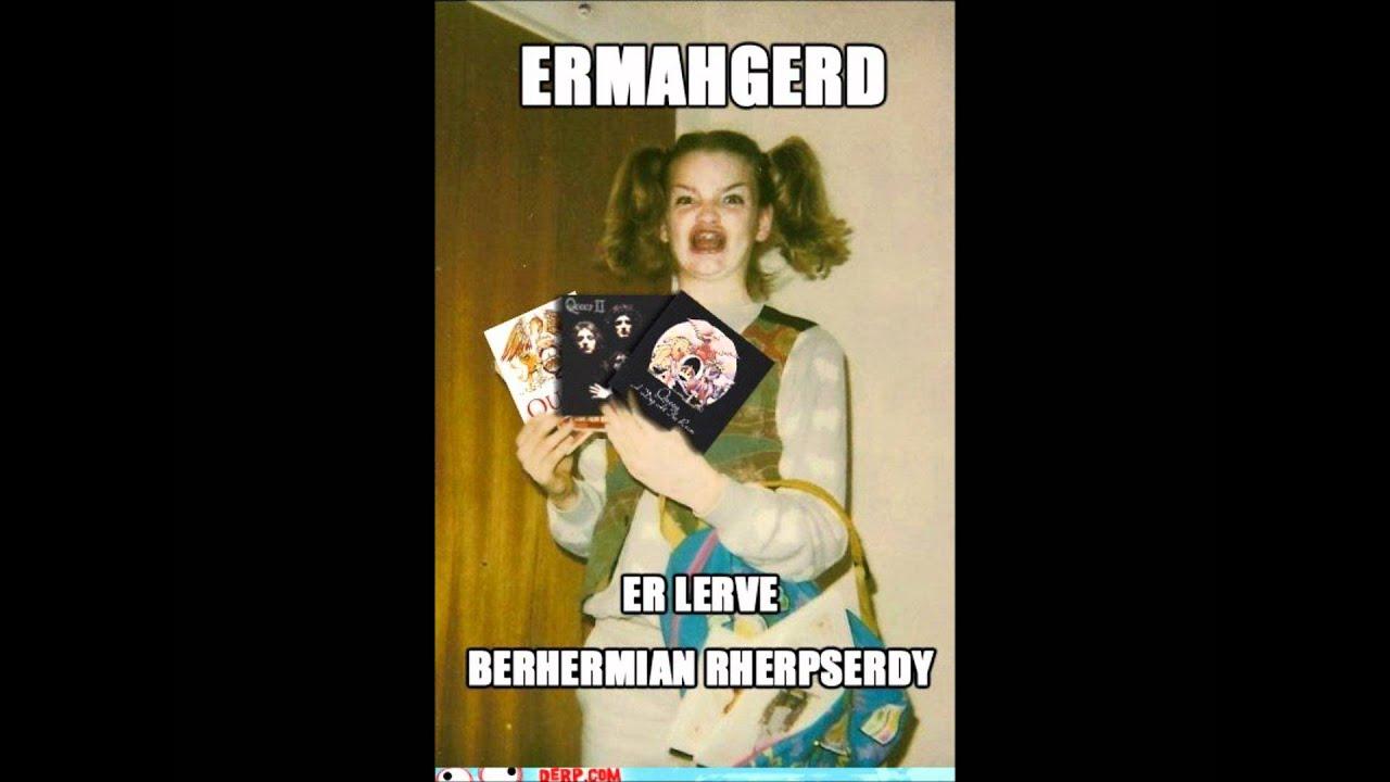 maxresdefault bohemian rhapsody (ermahgerd version) xd youtube,Ermahgerd Birthday Meme