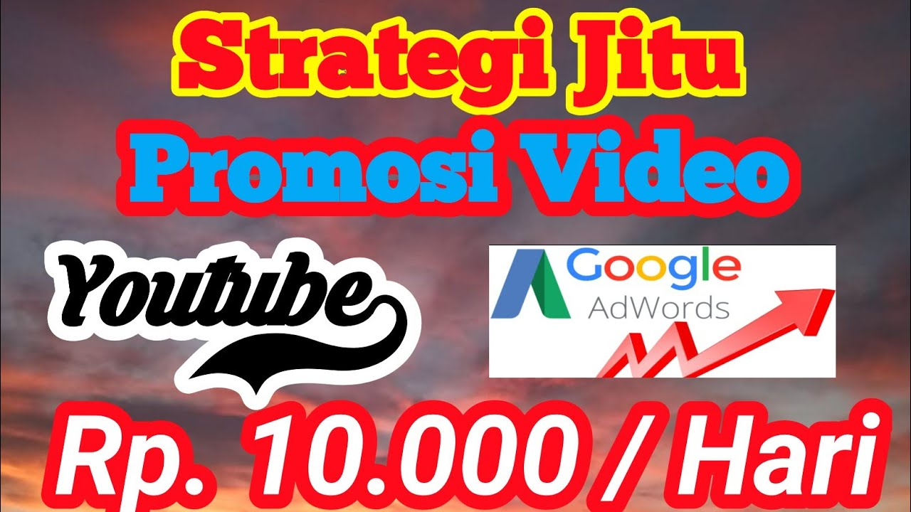 Cara Mudah Promosi Video Youtube Di Adwords Terbaru 2020 Youtube