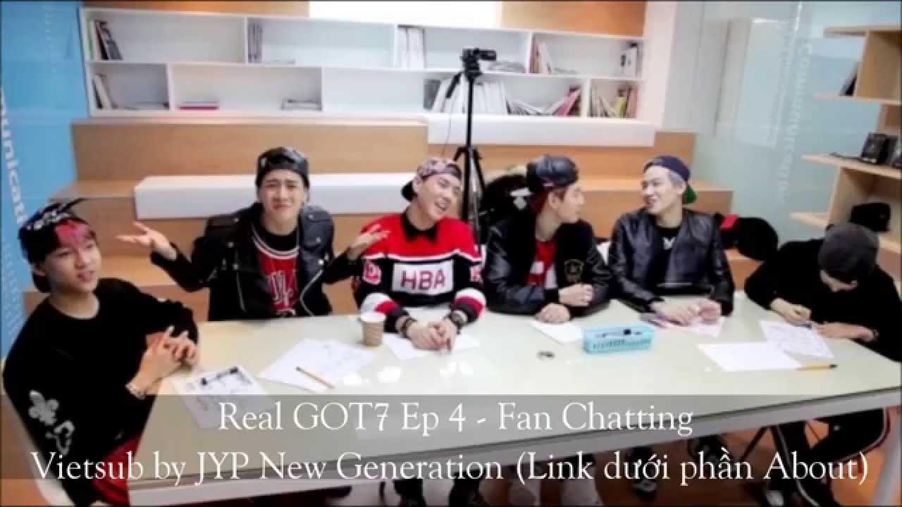 [Vietsub] REAL GOT7 EP 4 - FAN CHATTING