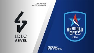 LDLC ASVEL Villeurbanne - Anadolu Efes Istanbul Highlights |Turkish Airlines EuroLeague, RS Round 9