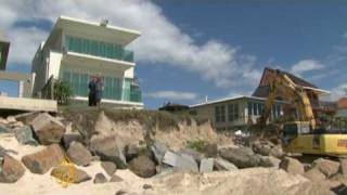 Australian beach life under threat
