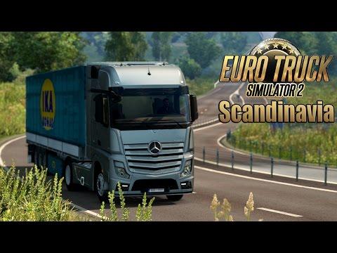 Euro Truck Simulator 2 Scandinavia DLC - BEAUTIFUL SWEDEN