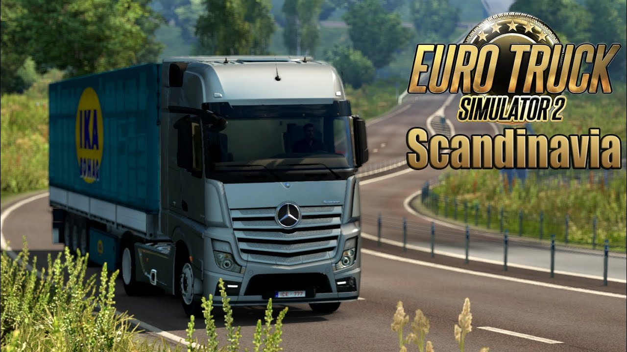 euro truck simulator 2 scandinavia dlc beautiful sweden. Black Bedroom Furniture Sets. Home Design Ideas
