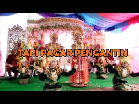 TARI PAGAR PENGANTIN   Wedding Novi & Anto Palemraya Ogan Ilir