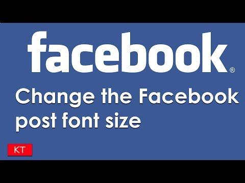 How To Change Font Size On Facebook Post In Android Devices