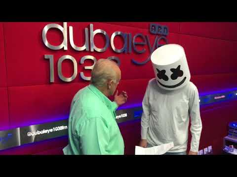 Virgin Radio prank Dubai Eye with a Fake Marshmello!
