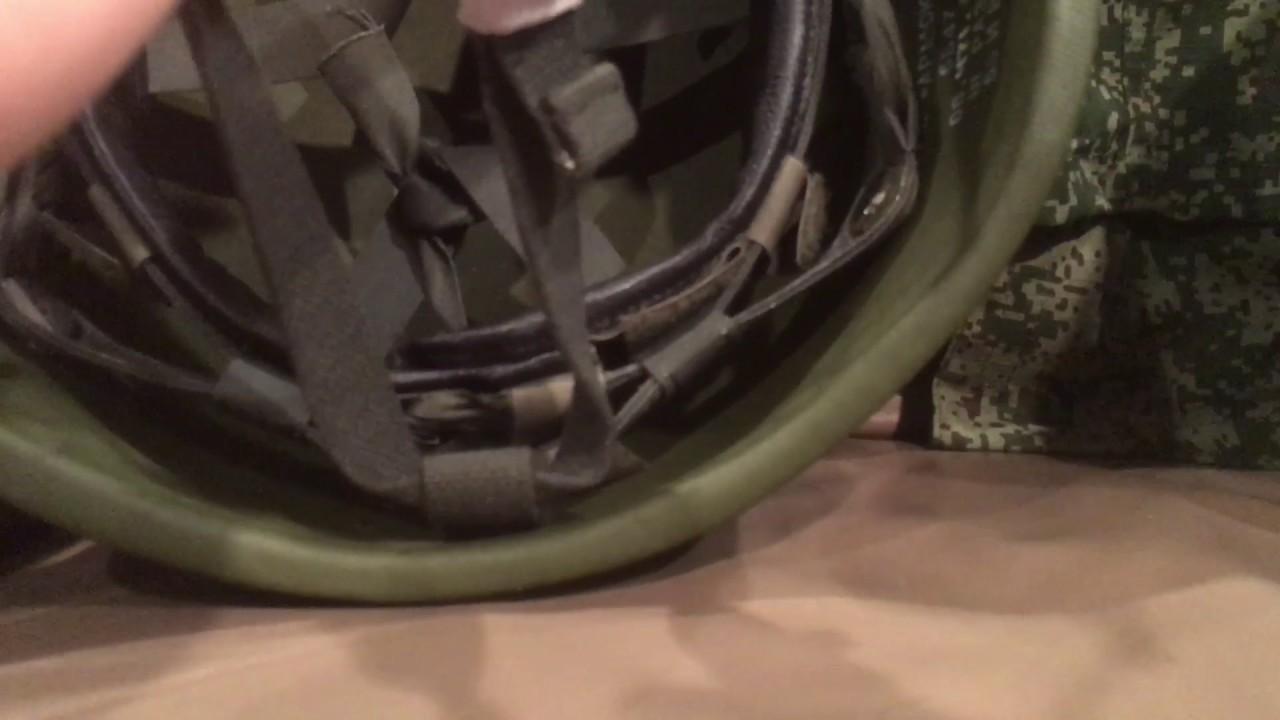 Helmet comparison Canadian cg634 vs Russian 6b47