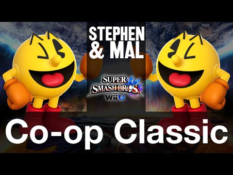 Stephen & Mal: SSB4: Co-op Classic - Pac-Man