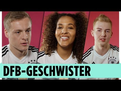 """DFB-Geschwister: """"Bruderherz, ich bin stolz auf dich!"""""""