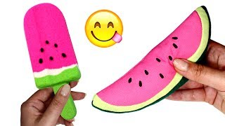 Learn Fruits Kinetic Sand Ice Cream Bars Fruit Toys Learn Colors Creative Play for Kids