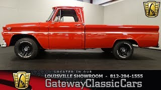 1966 GMC 1000 Custom Pickup - Louisville Showroom - Stock # 1547