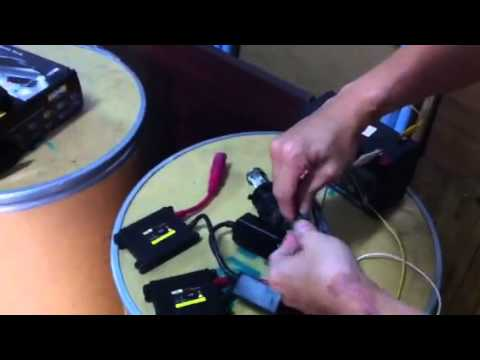 How To Test A Ballast >> Hid Ballast Testing Youtube