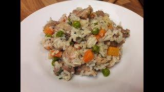 Tavaszi rizses hús, zöldséges rizses hús / Szoky konyhája /