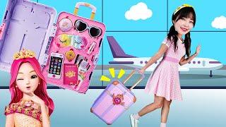 시크릿쥬쥬 매직캐리어를 들고 여행을 떠나요! 해외여행 갈 때 준비물 챙기기