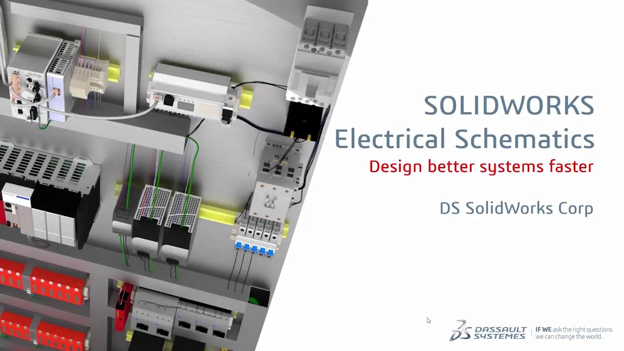 Product Demo Solidworks Electrical Schematic Youtube