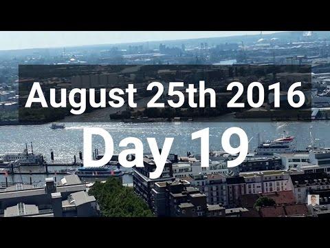 Day 19 Hamburg - Germany Adventure