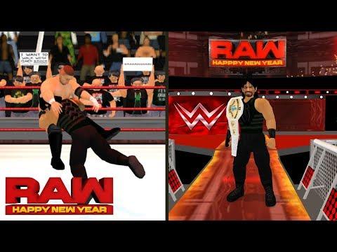 Roman Reigns vs. Samoa Joe - Intercontinental Championship Match, Raw- WR3D thumbnail