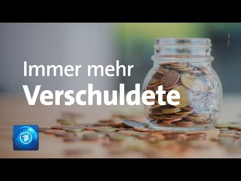 Schuldneratlas 2018: Sieben Millionen Deutsche überschuldet