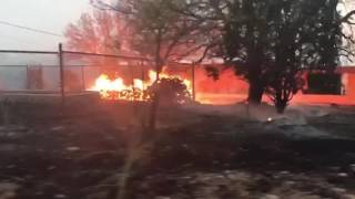Encino Fire Burns Near Homes in Apache Trail, Arizona