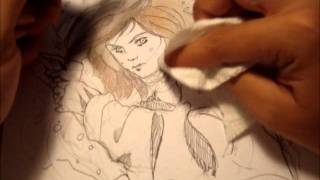 drawing RACHEL from the Doomspell Trilogy