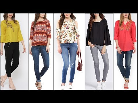 Beautiful Causal wear tops Designs / Kurti / Shirt with jeans | Latest Girls Fashion for everyday