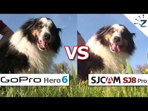 SJCam SJ8 Pro vs GoPro Hero 6 Black! 😋