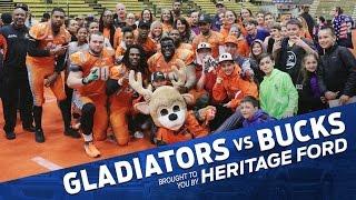 Gladiators vs. Bucks | Vermont Bucks | Heritage Ford