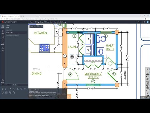 AutoCAD Web App - Edit And Create Drawings