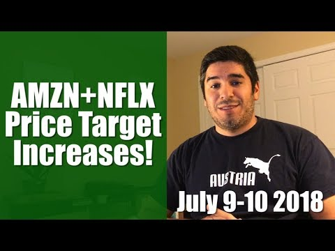 +$2,700 in Gains! Price Target Increases for Amazon and Netflix! | RT2CC Day 533-534 Mp3