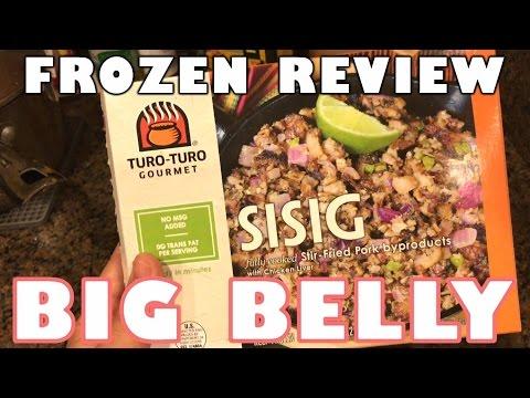 Frozen Sisig Food Review - Turo-Turo Gourmet Sisig - Filipino Food Microwave Sisig Taste Test