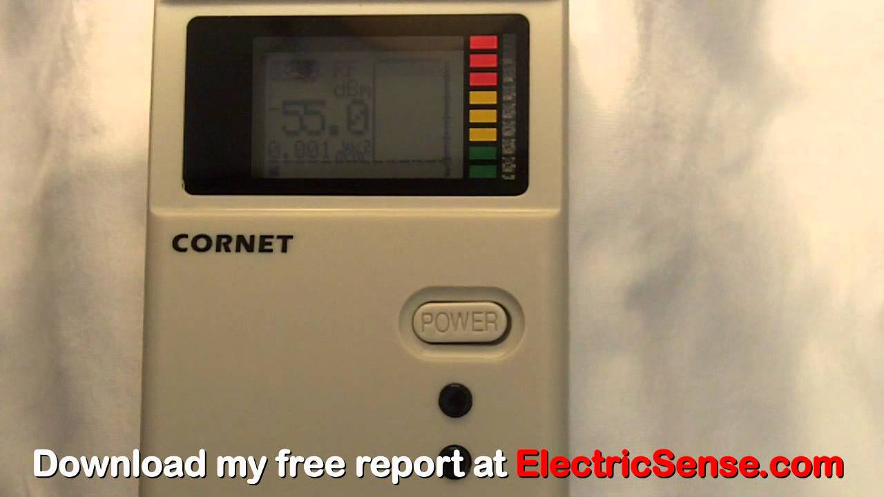 Michael's Review of the Cornet ED88T EMF Test Meter - YouTube
