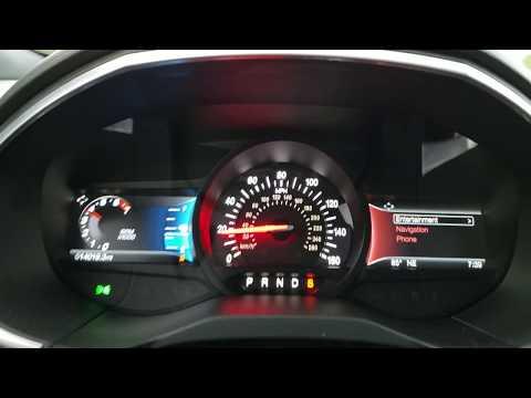 2019 Ford Edge ST Top Speed Run 130mph