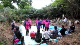 石垣字会による牛ヌニガイで奉納舞踊のさわり